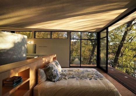 13 Beautiful bedroom design ideas with balconies | Home Improvement Ideas | Scoop.it