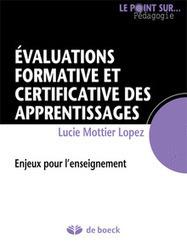 L'évaluation formative et certificative des apprentissages des élèves   Formation pour adultes, apprentissage et pédagogie   Scoop.it