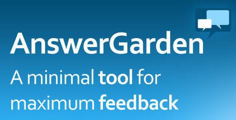 AnswerGarden | Cool Online Tools | Scoop.it