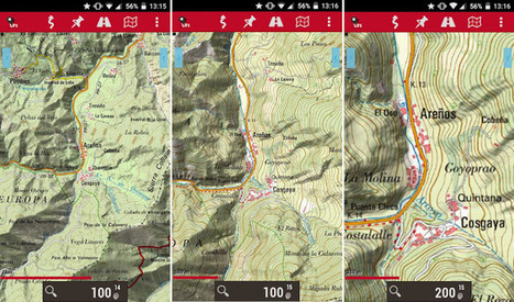 Cartografía Digital: IGN: mapas para móviles. | Aplicaciones y tecnología | Scoop.it