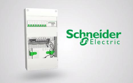 Schneider Electric développe un tableau électrique connecté | ToolMapp - Startup | Scoop.it