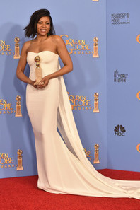 Get the look with L'Oreal Paris, Golden Globes edition: Taraji P. Henson | Fashion & Beauty | Scoop.it