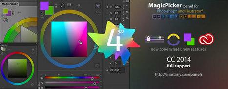 MagicPicker 4.0 pour Photoshop et Illustrator - 3DVF   Adobe illustrator   Scoop.it