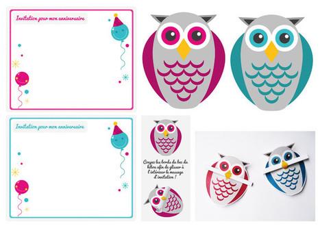 le vide-atelier des créatives» Blog Archive » Cartons d'anniversaire pour enfants | Paper Art | Scoop.it