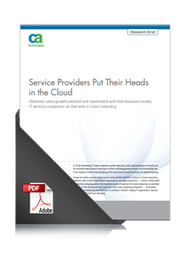 Service Providers Put Their Heads in the Cloud | Discover Sigalon Valley - Where the Tags are the Topics | Scoop.it