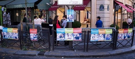 Affichage sauvage contre l'extrême pauvreté à Paris | La communication des ong et associations | Scoop.it