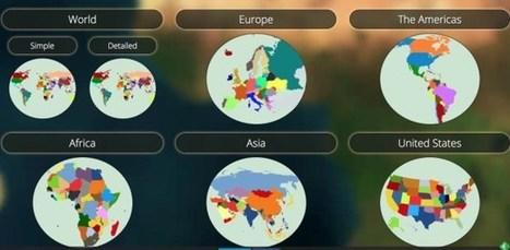 Mapchart. Des fonds de cartes gratuits pour tous vos besoins – Les Outils Tice | Humanidades digitales | Scoop.it