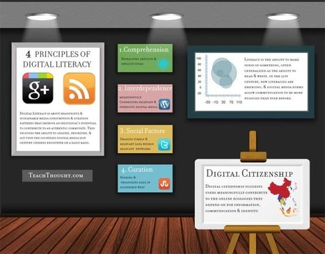 4 Principals Of Digital Literacy | Social Media in Education | Scoop.it