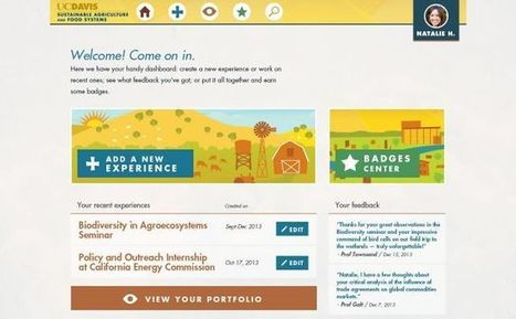 UC Davis's groundbreaking digital badge system for new sustainable agriculture program | Inside Higher Ed | Academics Today | Scoop.it