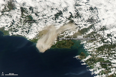 Blast from San Miguel Volcano : Natural Hazards   Earth Sciences and Geography   Scoop.it