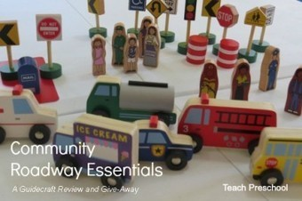 Guidecraft educator give-away: Community and roadway essentials | Teach Preschool | Scoop.it