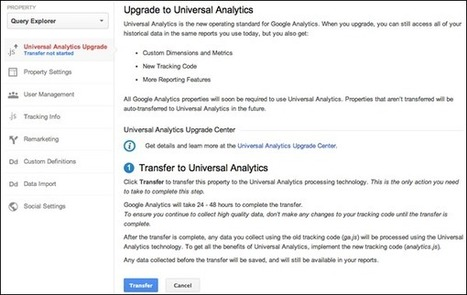 Google To Upgrade All To Universal Analytics, But There's A D-I-Y Upgrade Tool Coming First - Marketing Land | #TheMarketingAutomationAlert | Niroshan Samuel | Scoop.it