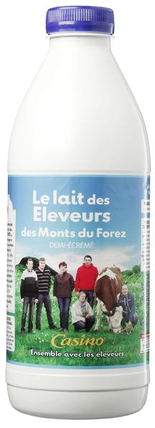Agroalimentaire – Le succès inespéré du « lait des éleveurs des Monts du Forez» | Alimentation durable | Scoop.it