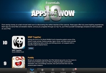 iPad App Store Features: 10 Apps that Wow   iPads, MakerEd and More  in Education   Scoop.it