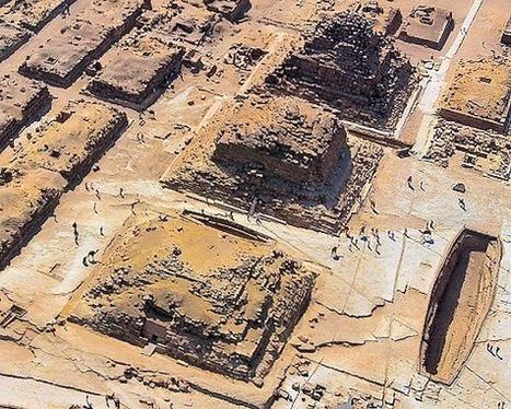 Une nouvelle hypothèse sur la construction des pyramides: le concept de conversion d'une structure initiale à degrés en pyramide lisse | Aux origines | Scoop.it