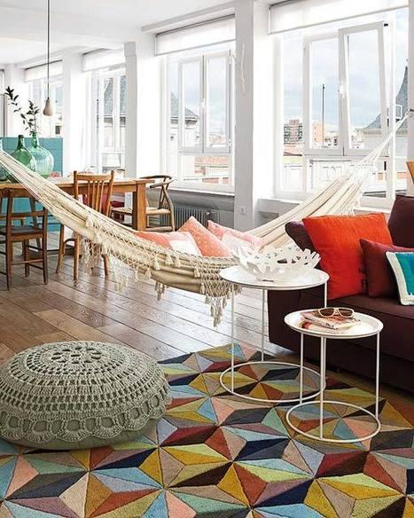 Un appartement plein de couleurs et de lumière | | PLANETE DECO a homes worldPLANETE DECO a homes world | Décorations en tous genres | Scoop.it