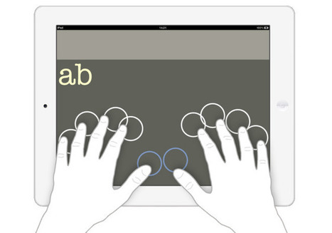 iPad App Brings Braille Keyboard to Blind Users' Fingertips | Apps | Apps and Widgets for any use, mostly for education and FREE | Scoop.it