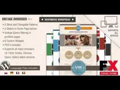 Preview Vintage Immersed - Multipurpose WordPress Theme Crea | General SEO | Scoop.it