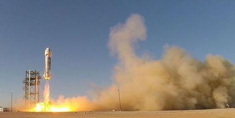 La fusée de Blue Origin se pose en douceur après un vol dans l'espace | Culture | Scoop.it