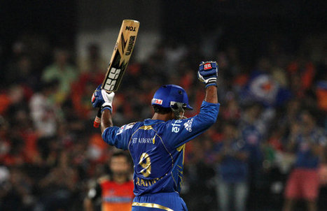 Lendl Simmons and Ambati Rayudu hit half-centuries to lead Mumbai Indians | busness | Scoop.it