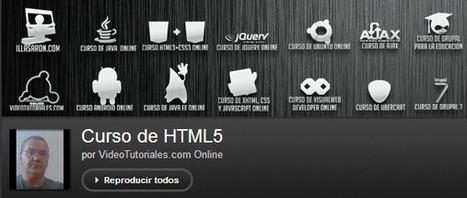 5 Recursos gratuitos y en español para aprender HTML5 desde cero | formación y educación | Scoop.it