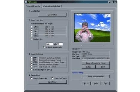 PIXresizer, redimensiona y convierte imágenes fácilmente con este software gratuito para Windows | Recull diari | Scoop.it