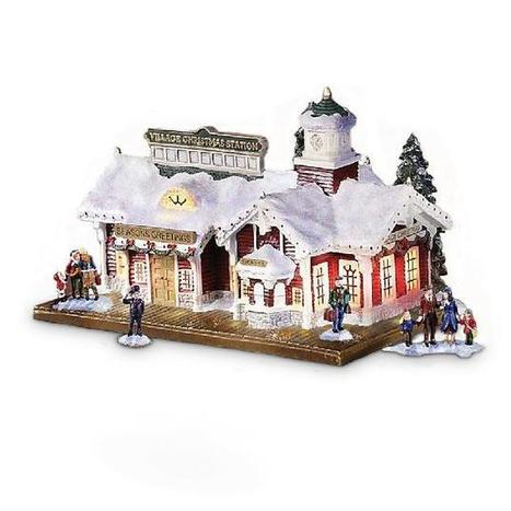 Thomas Kinkade Christmas Village - InfoBarrel | All Things Merry for Christmas | Scoop.it