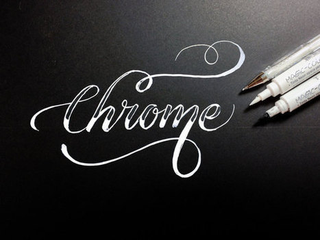 Calligraphy Every Day by Jackson Alves | Use of Typography as an element of design | Scoop.it
