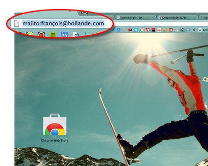 Gmail : envoyer un e-mail depuis la barre de favoris | Time to Learn | Scoop.it