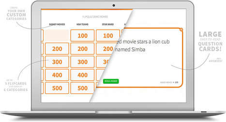 FlipQuiz | Gameshow-style Quiz Boards for Educators | TIC | Scoop.it