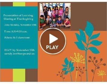 Thanksgiving | Kindergarten | Scoop.it