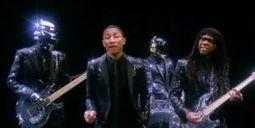 VIDEO - Premier teaser de Get Lucky, le nouveau titre des Daft Punk avec Pharrell Williams | Daft Punk France Columbia | Scoop.it