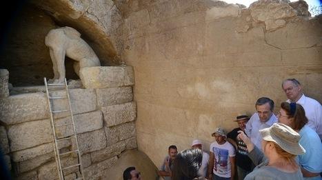 Two Scenarios for the Great Tomb in Amphipolis | GreekReporter.com | Bibliothèque des sciences de l'Antiquité | Scoop.it