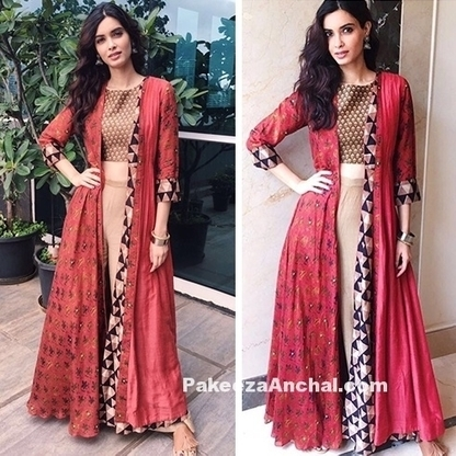 Diana Penty in Printed Outfit by Anushree Label | Indian Fashion Updates | Scoop.it