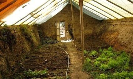 Construire une serre souterraine pour cultiver toute l'année : mode d'emploi ! | Design de permaculture | Scoop.it