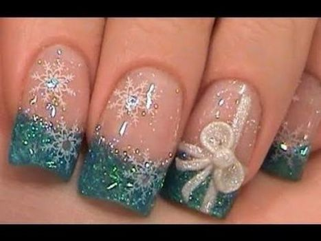 Christmas nails design 28 – Picturing Images | Fashion Home decor Tattoos Beauty Pictures | Scoop.it