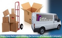 Enjoy Easy Relocation Utilizing the Services of a Removals Company. | Taha Removals | Scoop.it