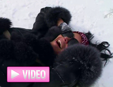 Maintenant Nabilla fait du ski, du moins elle essaie (VIDEO) | Ski News | Scoop.it