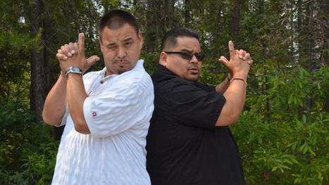 Two men, a minivan and a dream: Rez Reporter and Jonny R are...   Biidaajimowin Baakiiginigan   Scoop.it