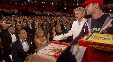 Ellen DeGeneres Makes Oscar History - Blabber | Celebrity News | Scoop.it