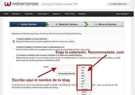 Crear un blog en 10 minutos. ¿Se puede? Aquí te lo enseño | Las TIC en el aula de ELE | Scoop.it