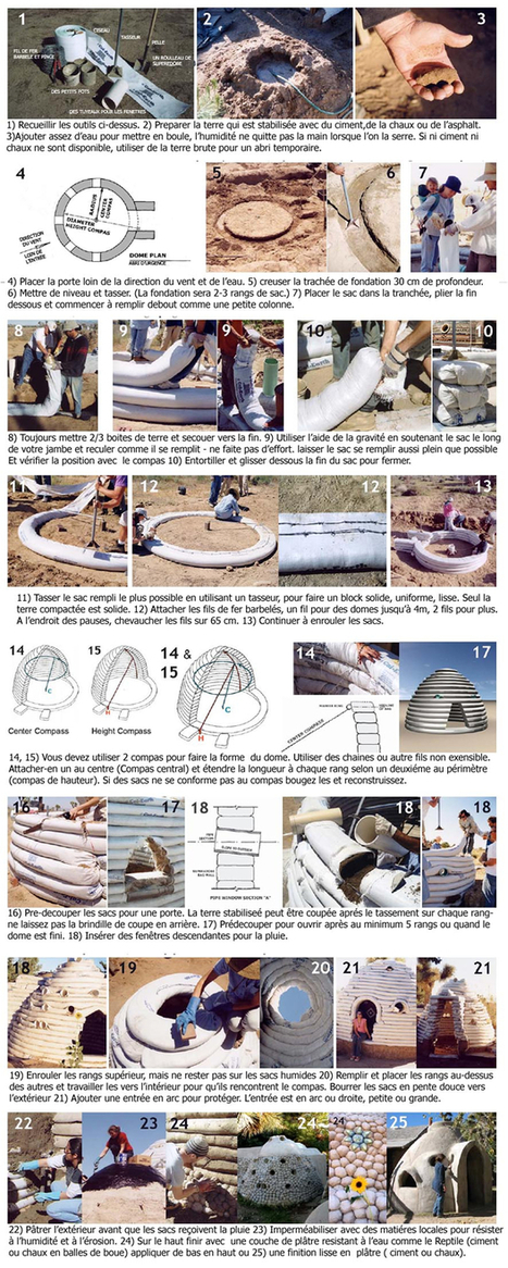 → EcoDome / SuperAdobe : la maison en sac de terre | Dans l'actu | Doc' ESTP | Scoop.it