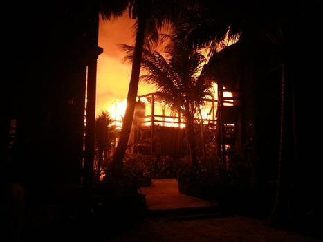 Discover Belize Travel Magazine: Massive fire engulfs Ramon's Village Resort | Discover Belize Travel Magazine | Belize Travel and Vacation | Scoop.it