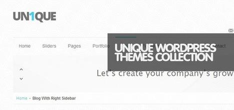 30 Most Popular Premium Responsive WordPress Themes - Weblees.com | Magento | Scoop.it