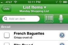 Apps to Make Sure You Don't Forget the Eggs - Wall Street Journal | Mobile: Recruitment and Applications | Scoop.it