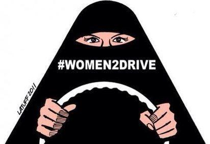 Interdiction de conduire : les Saoudiennes redémarrent au quart de tour | Femmes dans le monde | Scoop.it