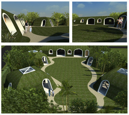 "These Modular ""Hobbit Houses"" Can Be Assembled in Three Days 