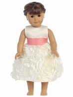 18 Inch Doll Dresses - Fits American Girl® Dolls at PinkPrincess.com | wedding and event | Scoop.it