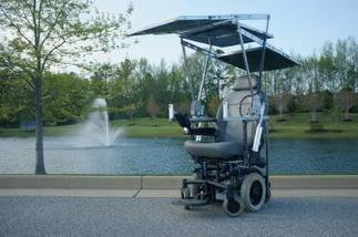Solar-Powered Wheelchair wins Cerebral Palsy Day Competition | On learning disabilities | Scoop.it