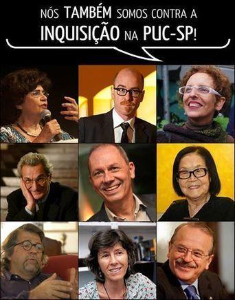 O manifesto contra a inquisição na PUC-SP | in.fluxo | Scoop.it
